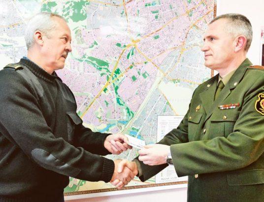 вручение юбилейной медали воинам-интернационалистам