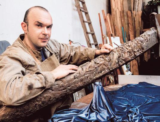 Скульптор Александр Прохоров