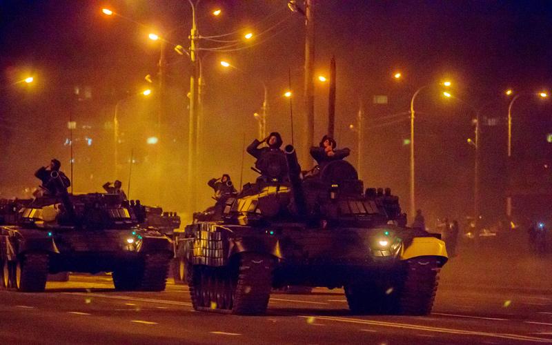 Праздник, парад, Минск
