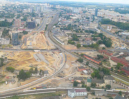 Минск, строительство