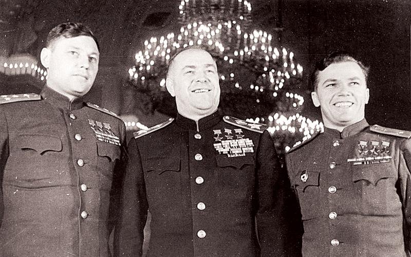 Александр Покрышкин, Георгий Жуков, Иван Кожедуб