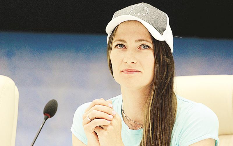 Дарья Домрачева, биатлон