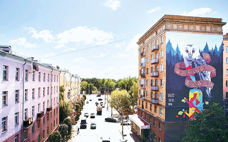 граффити, Минск, рисовать