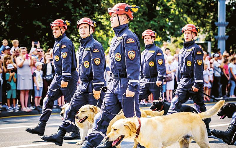 юбилей пожарной службы, праздник