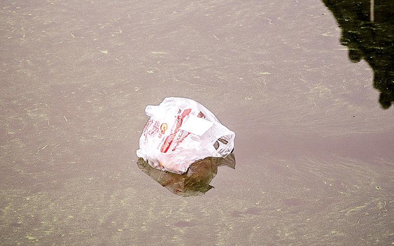 Свислочь, мусор