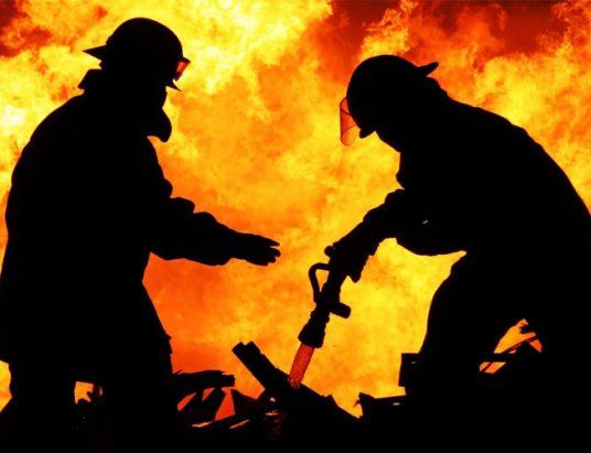 пожар, огонь, МЧС