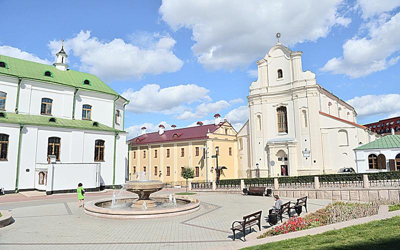 минск, верхний город