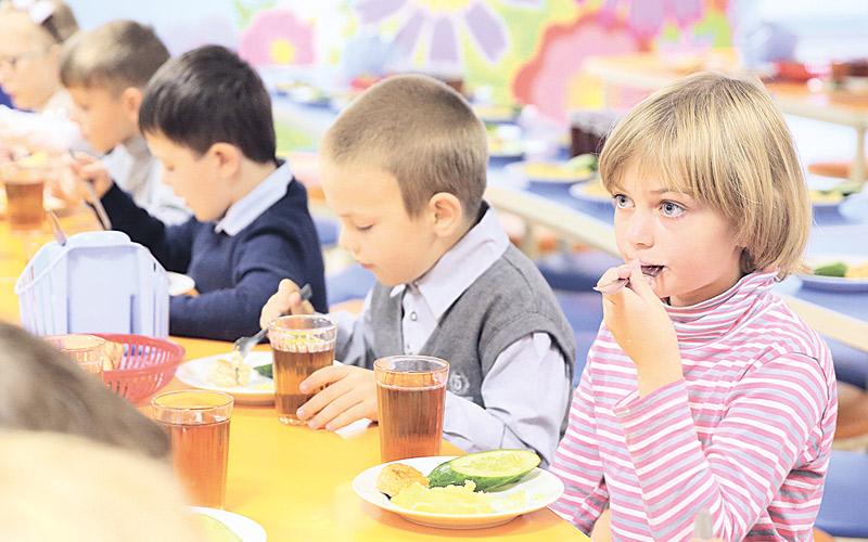 дети. столовая