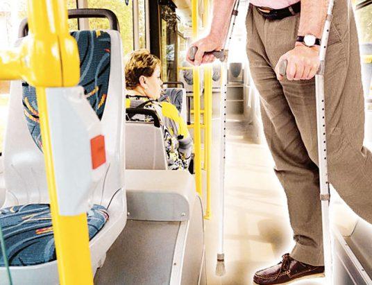 транспорт, инвалид