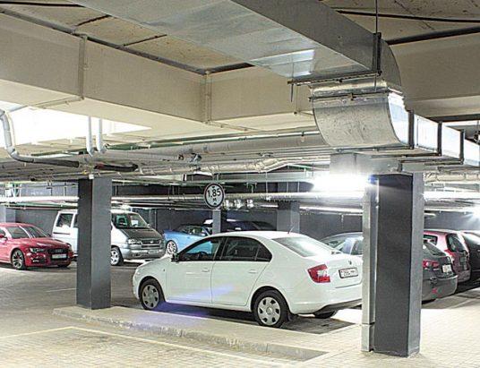 паркинг, машина