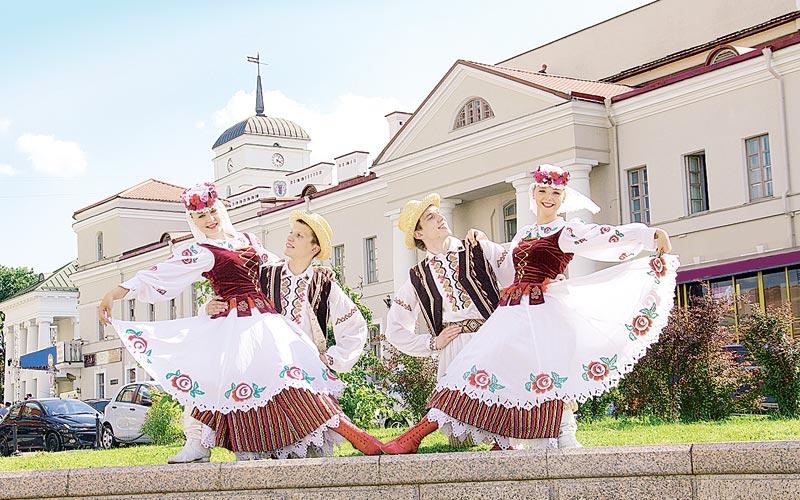 праздник города, минск