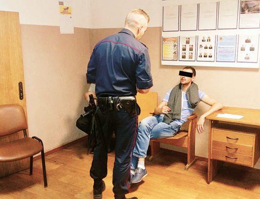 милиция, задержание
