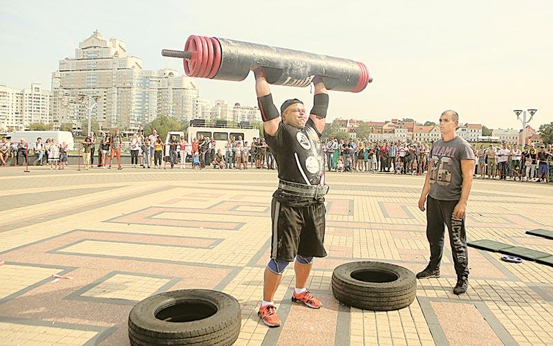 силовой экстрим, Minsk Open Cup