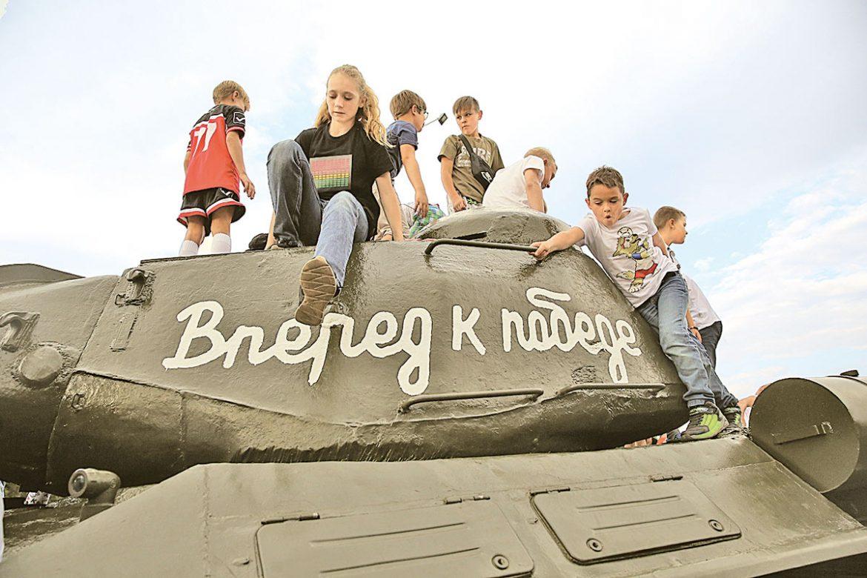 день танкиста, парк победы