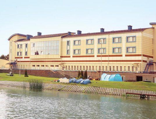 гребной канал в Заславле