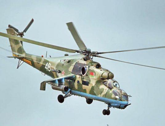 военно-транспортный вертолет