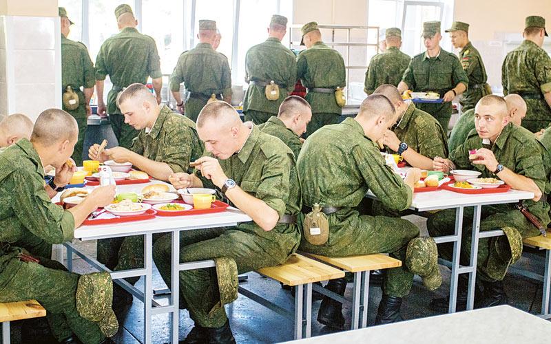 армия, столовая