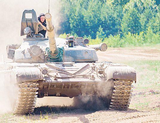 армия, танк, беларусь