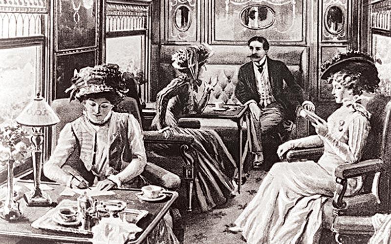 поезд, XIX век