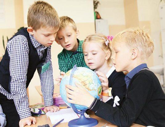 школьники, СШ № 9, минск