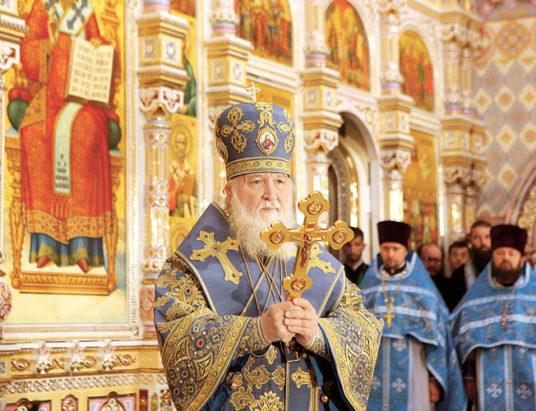 патриарх кирилл, освящение храма-памятника