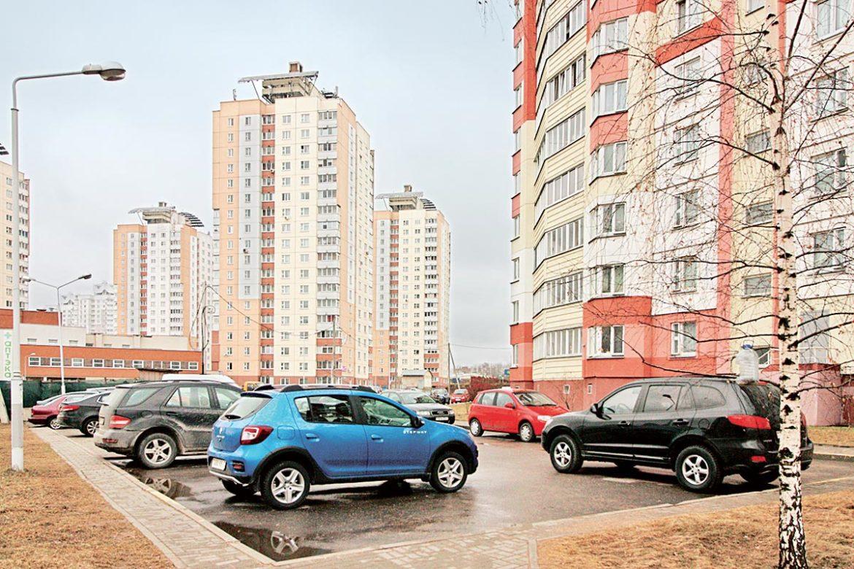 парковки, минск