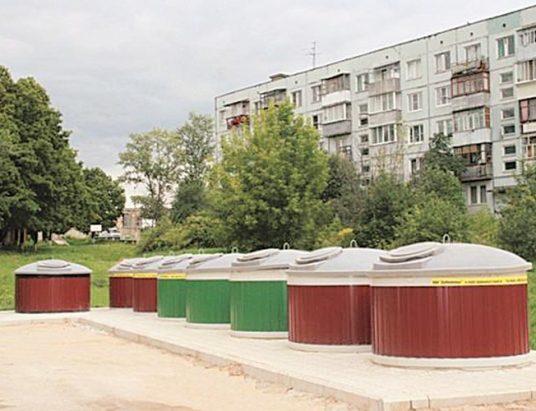 заглубленные контейнеры для сбора мусора