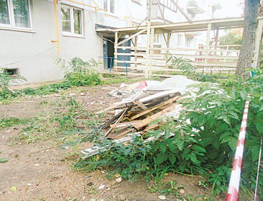 мусор, строительство