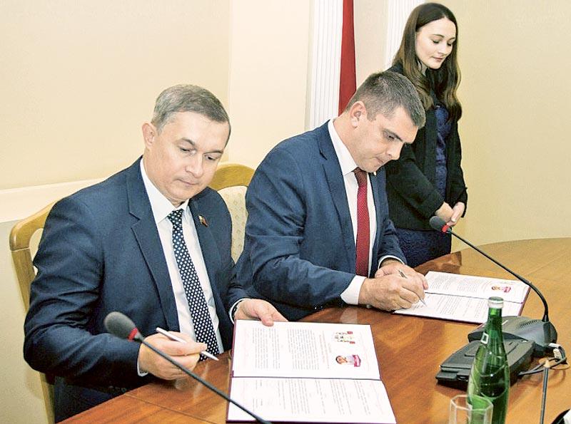 Владимир Соваренко и Андрей Жайлович