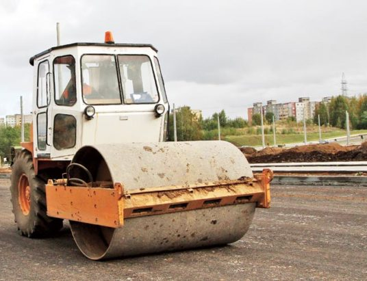 ремонт дороги, минск