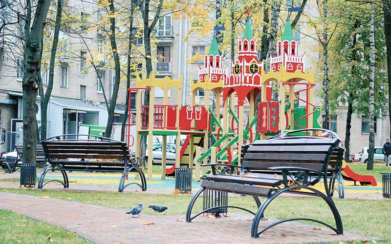 московский дворик, минск