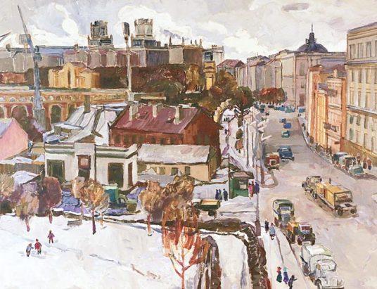 Сергей Катков «Минск. Улица Кирова» (1968)
