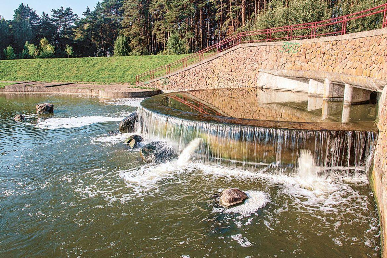 слепянская водная система, минск