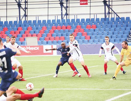 футбол динамо-манск