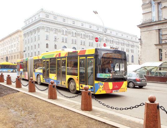 автобус, минск