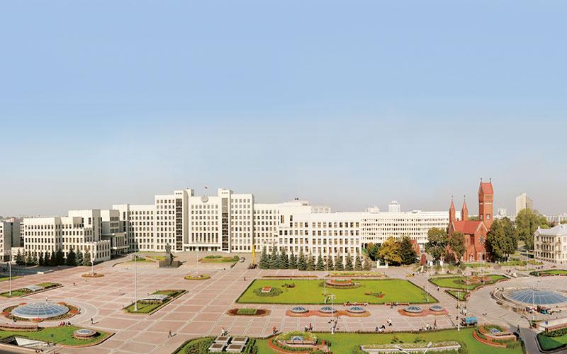 минск, площадь независимости