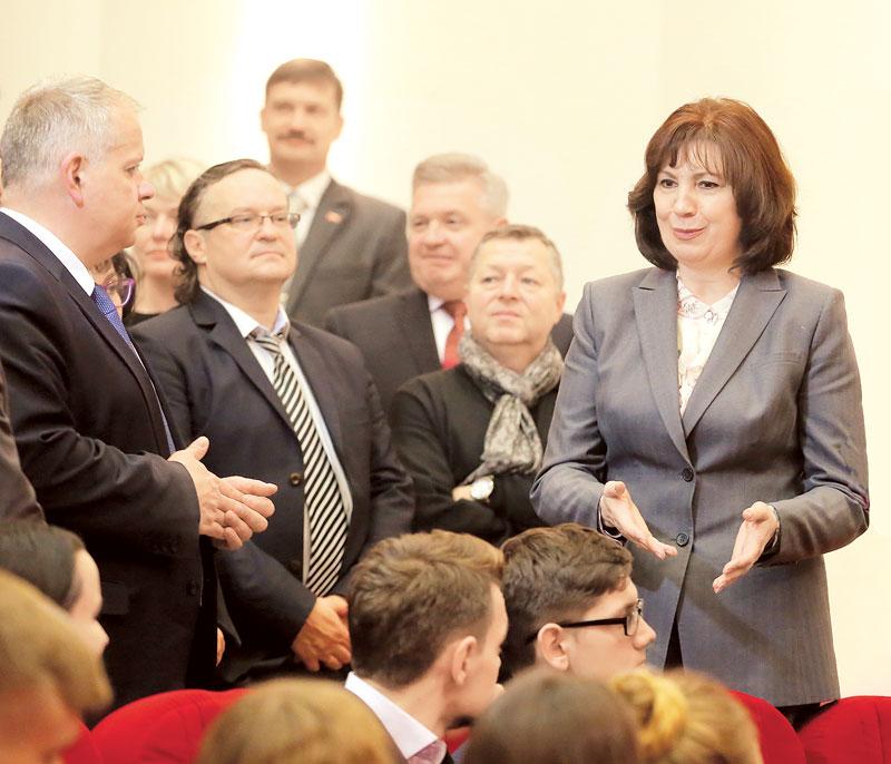 глава Администрации Президента Республики Беларусь Наталья Кочанова