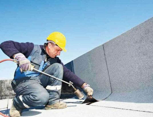 ремонт крыши, минск