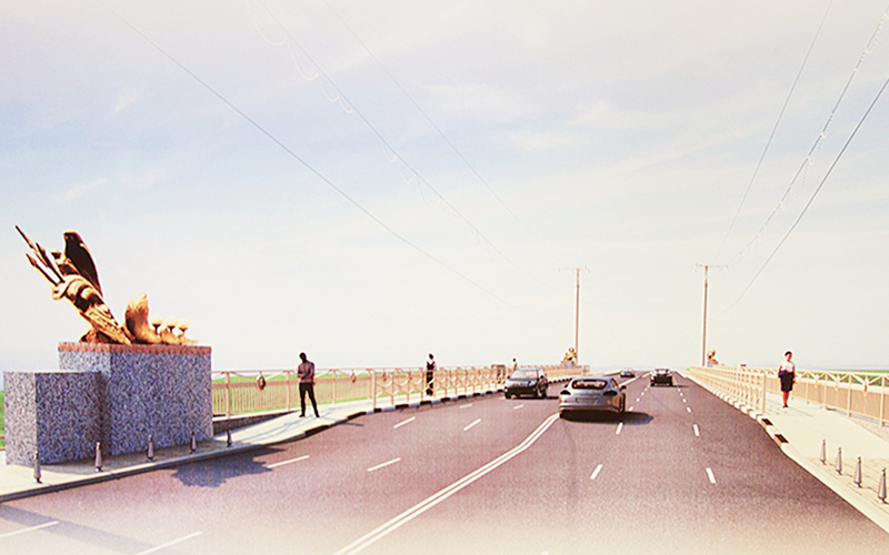 мост, свислочь