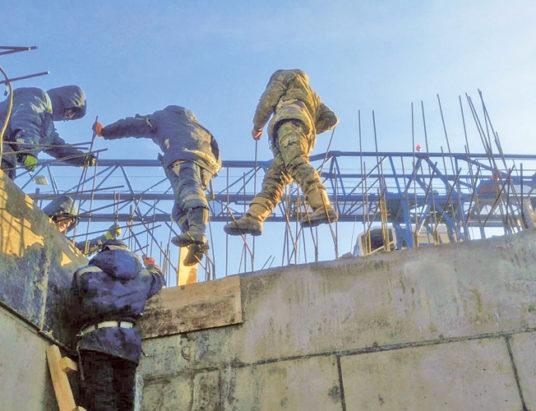 строительство, охрана труда
