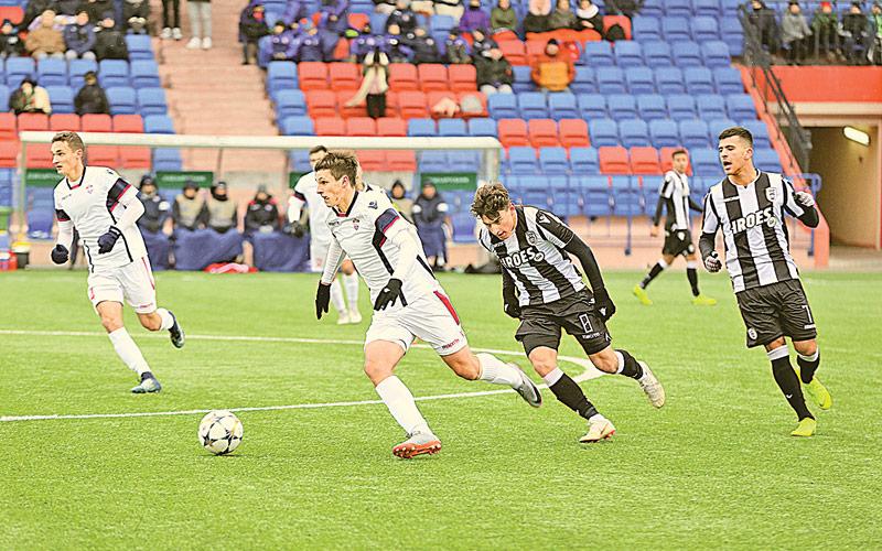 Матч юношеской Лиги чемпионов УЕФА