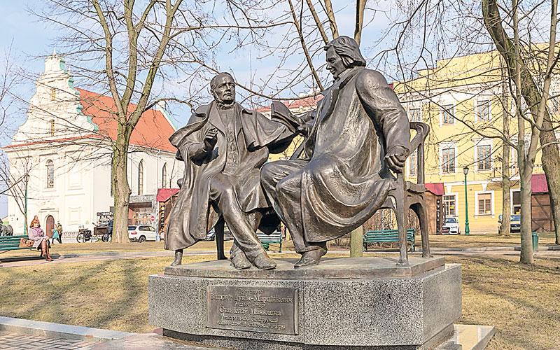 памятник монюшко и дунину-марцинкевичу