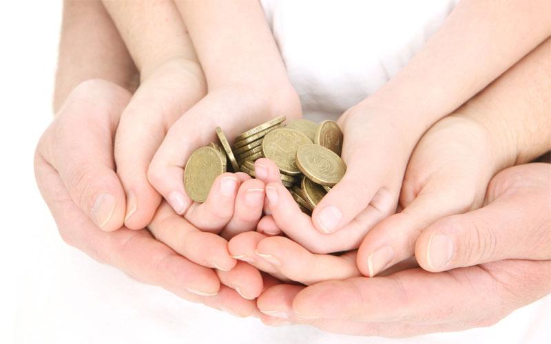 семейный капитал, деньги