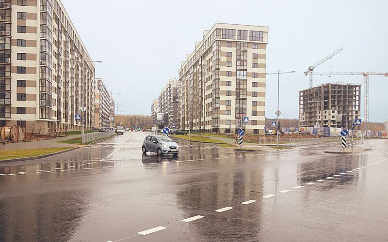 Улица Жасминовая, минск
