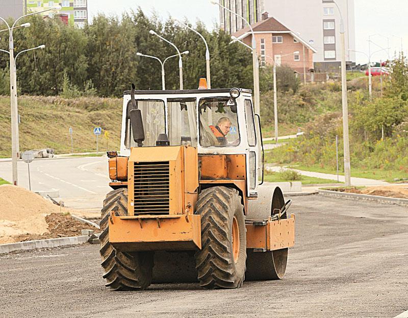 Продолжение улицыГолубева, минск