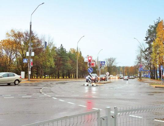 развязка МКАД—улица Купревича