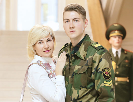 Наталья Михайловна и Александр Лазучёнок