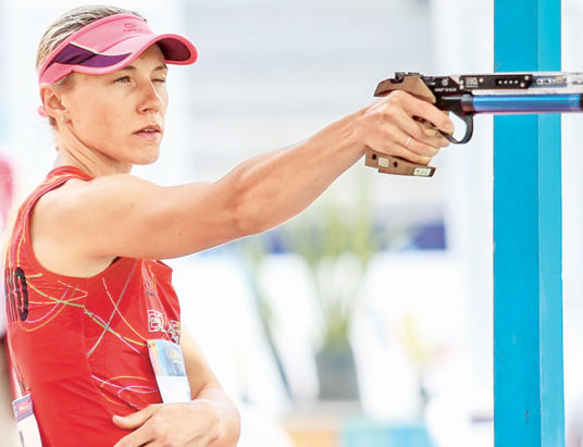 Анастасия Прокопенко, пятиборье