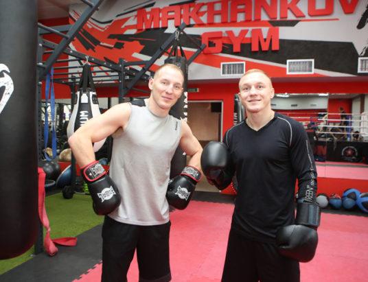 Михаил и Евгений Долголевцы, бокс