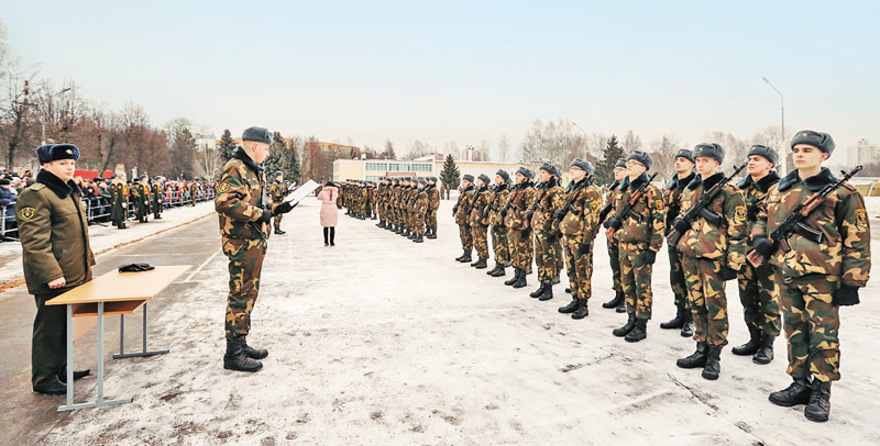 присяга, 120-я бригада
